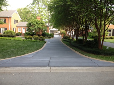 Driveways Sidewalks Pavers And Stamped Concrete Charlotte NC E H HARD
